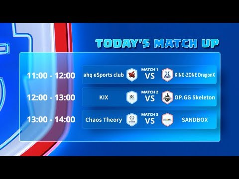 Clash Royale League Asia - Week 5 Day 2