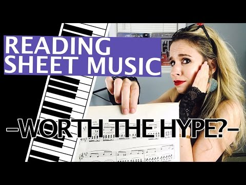 Do I need to read Sheet Music - is it worth it? Piano Tutorial
