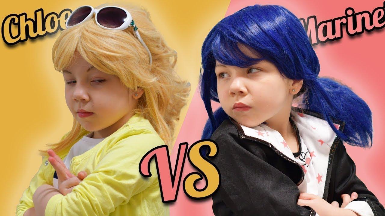 Marinette Ladybug VS Chloé Bourgeois! Marinette yeni komşusuna nasıl şaka yaptı!