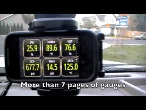 Torque APP Pro, Ford 6 0L Diesel  Android APP