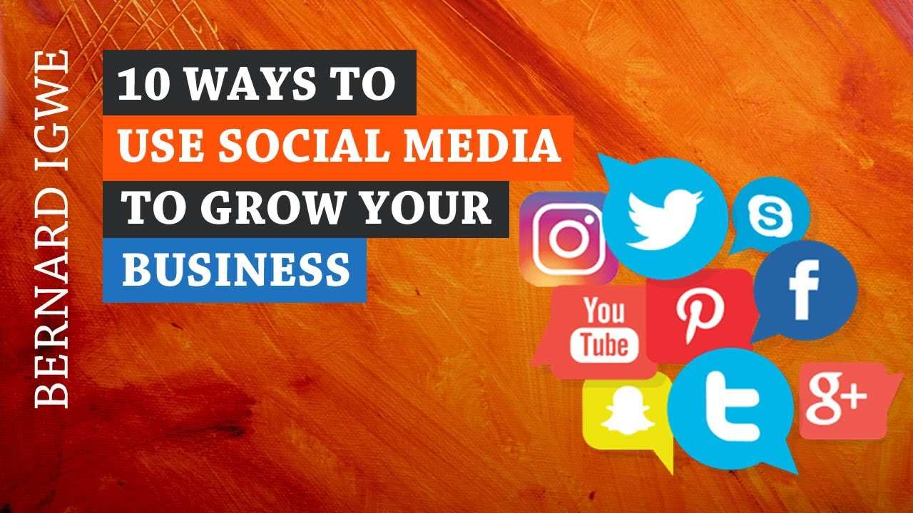 20 Ways to Use Social Media to Grow Your Business   Shellfield ...