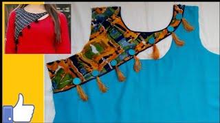 neck design, latest neck design 2019, gala design, neck design for Kurti cutting and stitching
