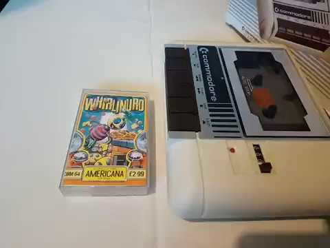 WHIRLINURD Commodore 64 C64 Case Cassette Manual View 21 10 18