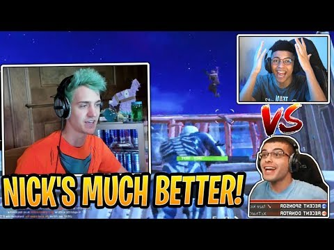 Ninja Reacts to Myth Getting DESTROYED by Nick Eh 30! - Fortnite Best and Funny Moments