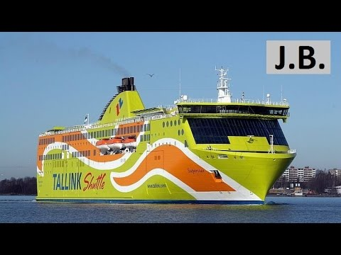 A walk on Mega-Ferry from TALLIN to HELSINKI