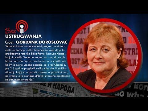 BEZ USTRUČAVANJA: Gordana Doroslovac - Tači i Haradinaj su osim droge prodavali i ljudske organe