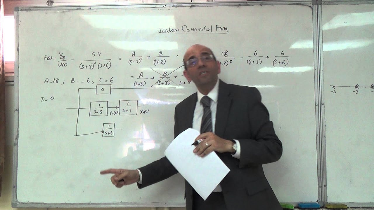 First Solved Problem on the Jordan Canonical Form, 14/3/2016 - YouTube