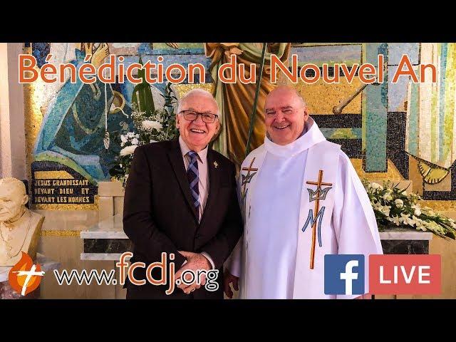 BÉNÉDICTION DU NOUVEL AN (Léandre Lachance & l'Abbé Guy Giroux)