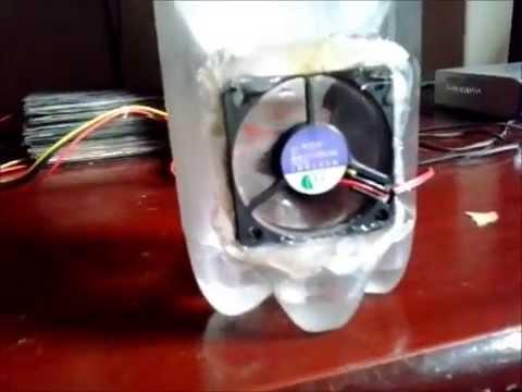 Ar Condicionado Caseiro Com Fonte De Computador Youtube