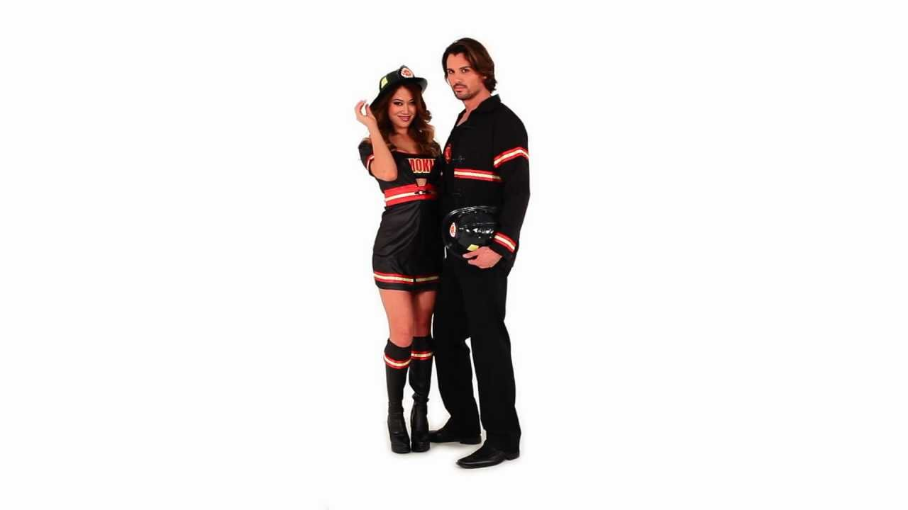 Smokin/' Hot Firefighter Costume for Women size Medium New by Dreamgirl 6524