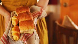 Milk bread recipe | ミルクパンの作り方 | 食パンとロールパン | VLOG 45