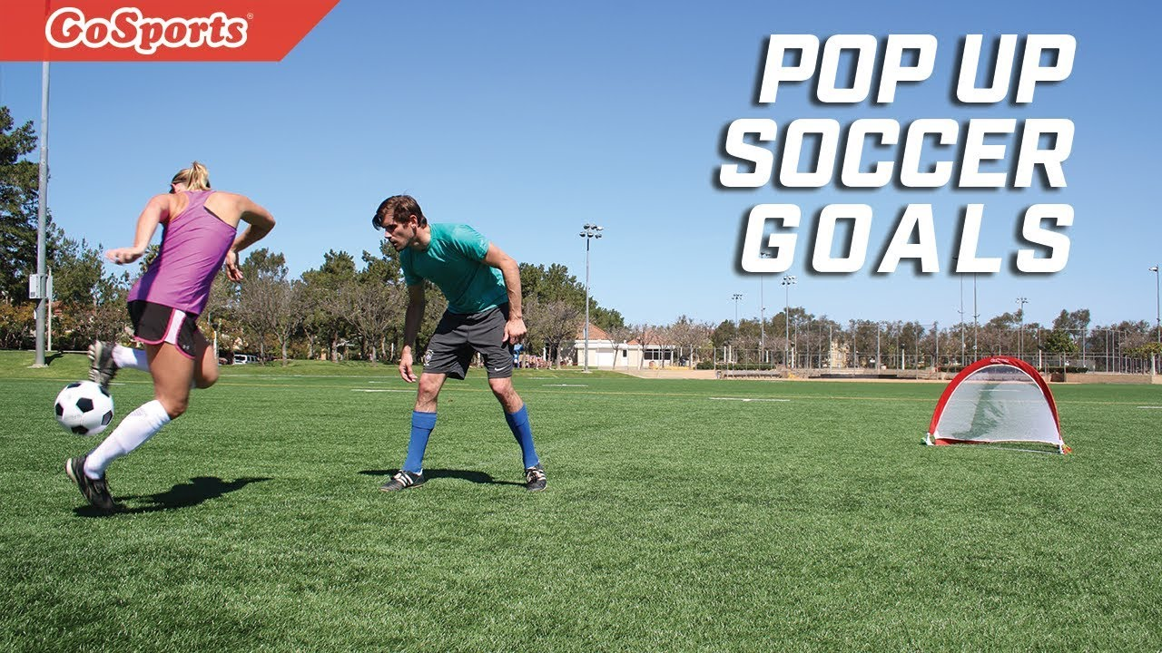a00ef889c Portable Pop Up Soccer Goals - YouTube