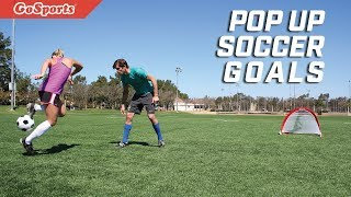 Portable Pop Up Soccer Goals