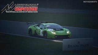 Assetto Corsa Competizione - First Lap in Lamborghini Huracan GT3 at Nurburgring GP