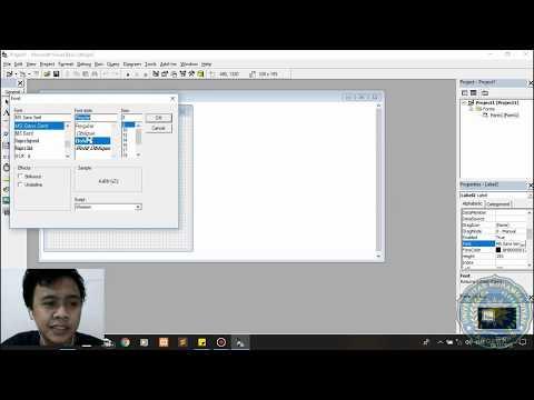 Membuat Aplikasi Sederhana Menggunakan Visual Basic 6.0