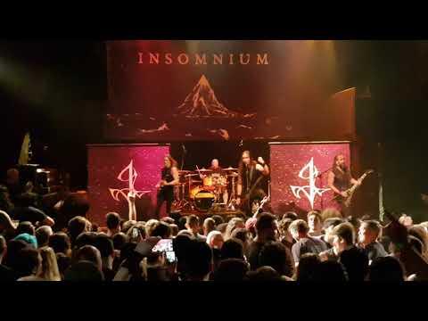 Insomnium - The Primeval Dark + While We Sleep LIVE @ Gramercy Theater NY, June 23, 2018