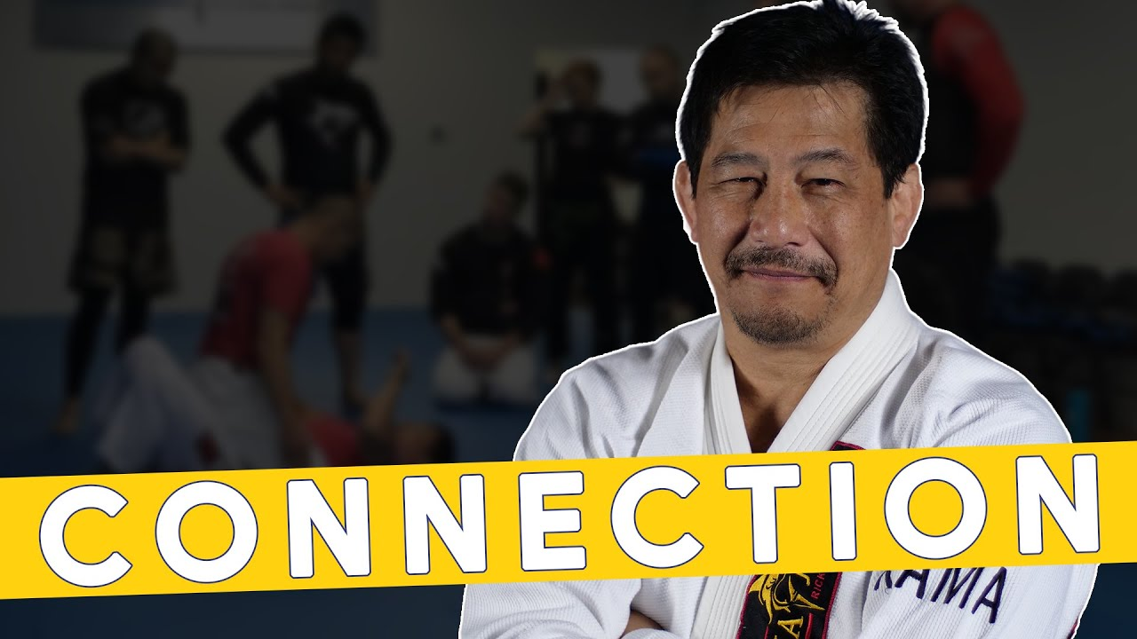 How To Have CONNECTION In Jiu-Jitsu - Master Dave Kama Shows Two Examples