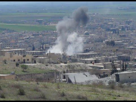 أخبار عربية | مقتل عائلة بقصف للنظام على قرية الناعمية شرق #حماة  - نشر قبل 3 ساعة