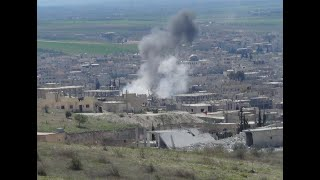 أخبار عربية | مقتل عائلة بقصف للنظام على قرية الناعمية شرق #حماة