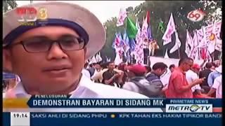Bukti Demo Bayaran Pendukung PRABOWO di Sidang MK Pasukan Nasi Bungkus ?