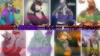 Furs Mashup Battle | K/DA Popstars x True Damage Giants - Nightcore (Male Edition)