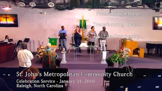 Family & Friends Celebration Service - January 31, 2016