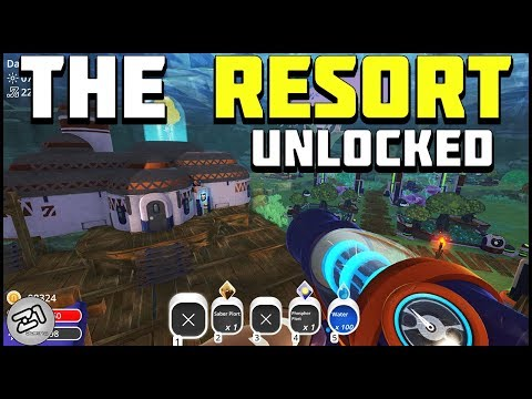 Unlocking the RESORT ! New Area, New Toys, New EVERYTHING! Slime Rancher Update Gameplay Z1 Gaming