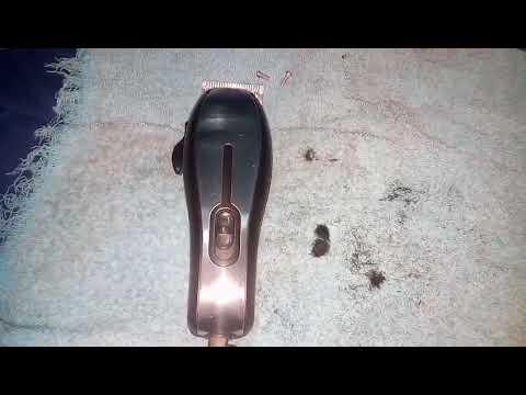 Maquina De Cortar Cabelo Britania Como Abrir Youtube