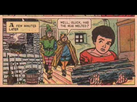 comic book : THE KING OF THE GOLDEN RIVER