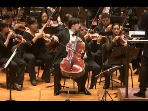 Daniel Müller-Schott plays Prokofiev Sinfonia Concertante op. 125 LIVE
