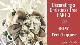 Decorating a Christmas Tree Part 3|Christmas 2018