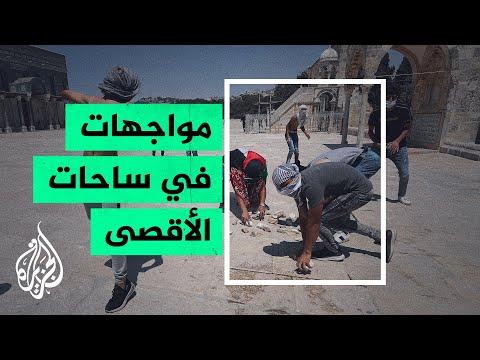 إصابة 9 فلسطينيين خلال مواجهات مع قوات الجيش الإسرائيلي  - نشر قبل 2 ساعة