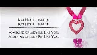 Hoor   Atif Aslam   Hindi Medium 2017   Lyrical Video With Translation