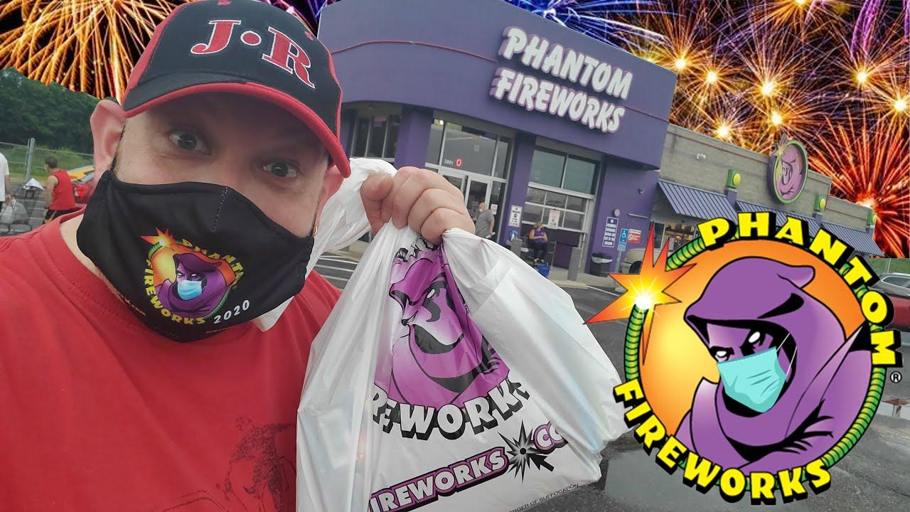 PHANTOM FIREWORKS 2020 !! COMPLETE STORE EXPLORATION !!