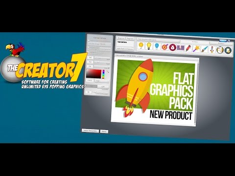 The Flat Graphics Pack from Laughingbird Software