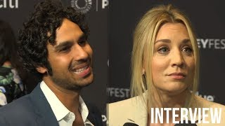 The Big Bang Theory Cast Talks SHOCKING Wedding News & Possible 12th Season? (2018 PaleyFest)