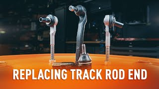 How to change Track rod end ball joint on - online free video