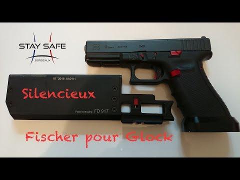 Test du réducteur de son Fischer sur Glock 17