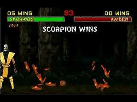 Mortal Kombat II Scorpion (Toasty) Fatality