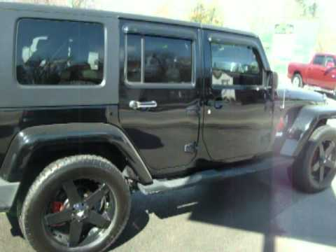 2007 jeep wrangler with 20