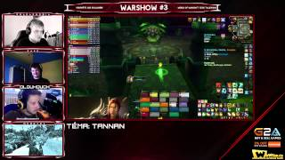VOD l Warshow #3 WoW CZ/SK Talkshow l Hosté: Zasz, Dlouhouch, Menntos