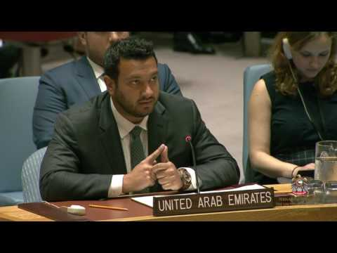 UAE Calls Out Iran During Security Council Open Debate