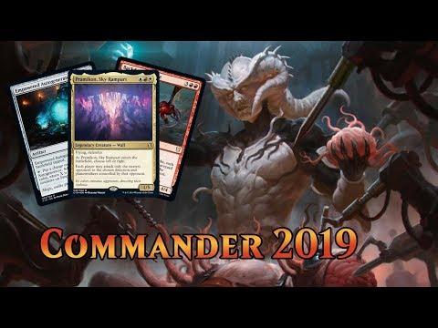 Commander 2019 Spoilers — August 6, 2019 | Legendary Wall!