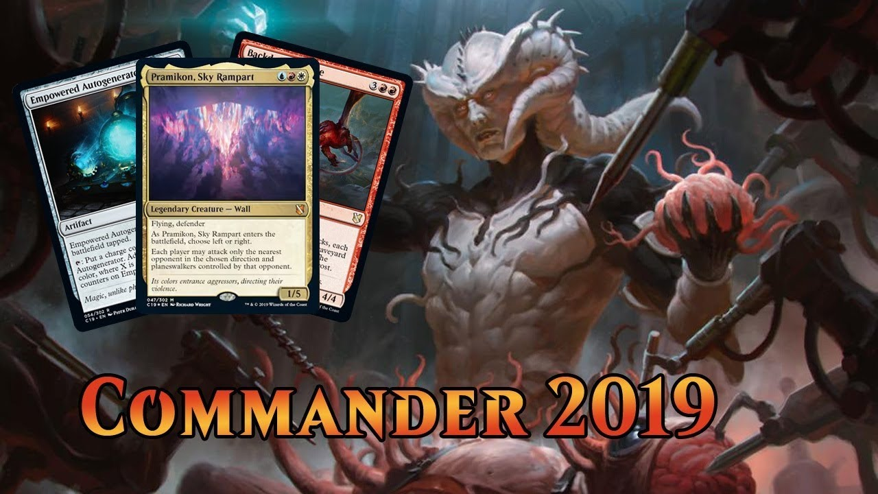 Commander 2019 Spoilers — August 6, 2019 | Legendary Wall!