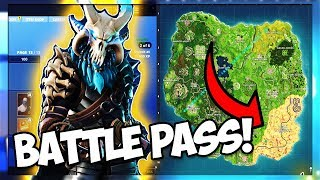 * PRIMER LOOK * EN TODAS LAS TEMPORADAFortNITE 5 PIELES DE PASO DE BATALLA Y COSMETICS! (Fortnite Battle Royale)