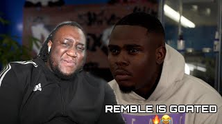 """BRITISH YOUTUBER REACTS TO REMBLE - """"NO COMPETITION"""" (OFFICIAL MUSIC VIDEO)"""