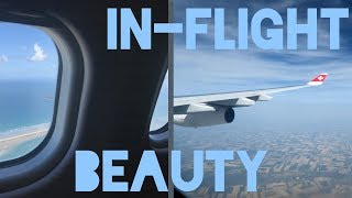 In-Flight Beauty Hacks!! | What To Do On A Plane When Bored!! Free Swiss Business Class