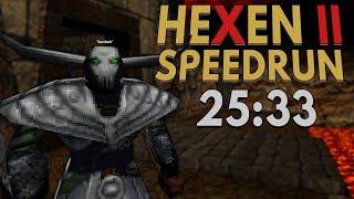 Hexen II (Crusader) Speedrun in 25:33 [Personal Best]