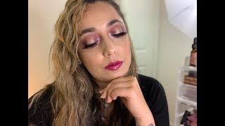 SMOKEY EYE TUTORIAL | PINK SMOKEY EYE JAZMINES CORNER