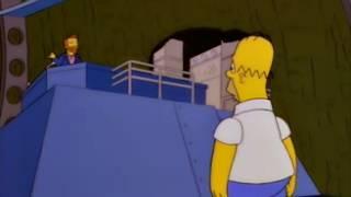 No hay ni uno que diga Italia | Los Simpson